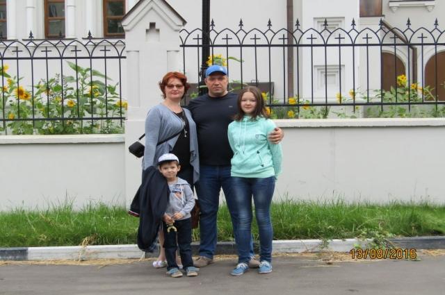 Сергей всегда чувствует поддержку семьи