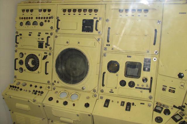 Пост гидроакустика подводной лодки Б-396 проекта 641Б