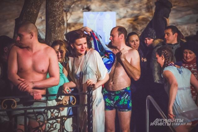 Крещение в Ставрополе
