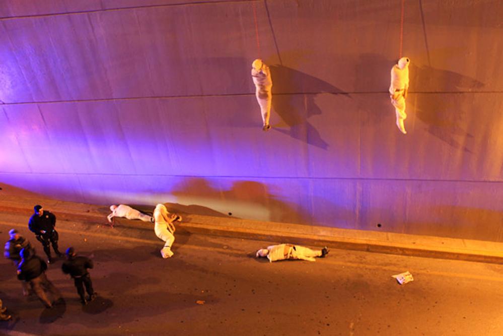 Жертвы борьбы наркокартелей в городе Сальтильо