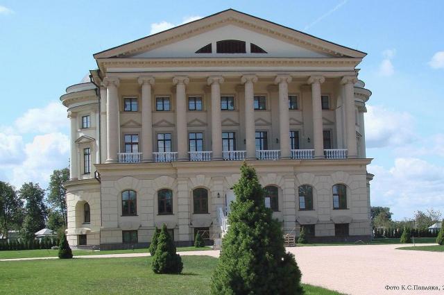 Личная резиденция в украинском городе Батурин.