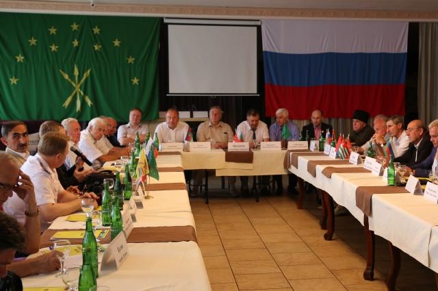 На заседании была отмечена роль Северного Кавказа как особой историко-этнографической области.