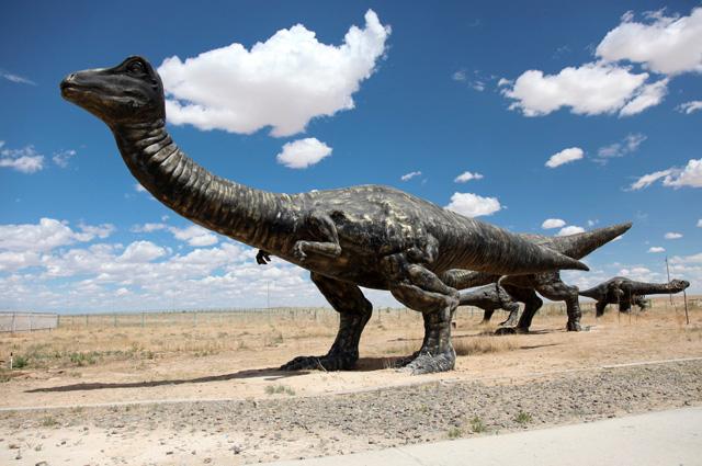 Эренхот, город динозавров