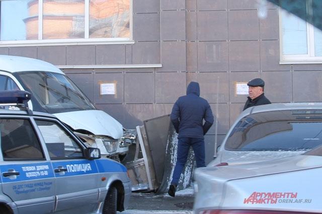 ДТП в Оренбурге - здание прокуратуры