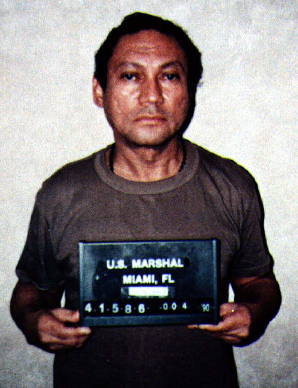 Мануэль Норьега, 4 января 1990 года.