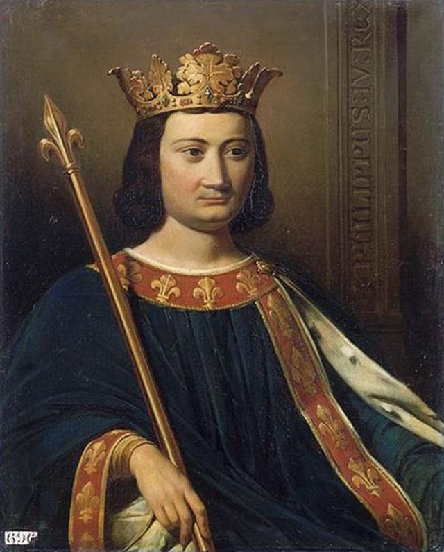 «Король Филипп IV Красивый». Художник Жан-Луи Безар.