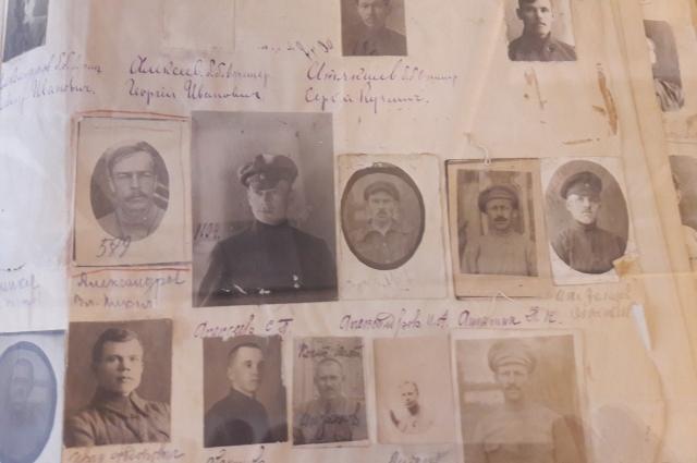 Разыскные альбомы на офицеров и прапорщиков Белой армии.