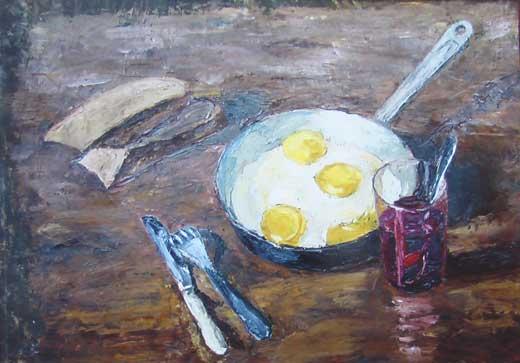 Одна из работ Виталия Бушковского.