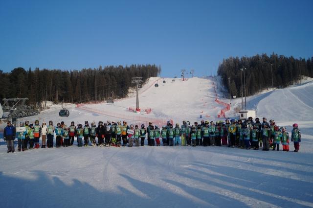 Спортсмены прибыли в Ханты-Мансийск со всего округа