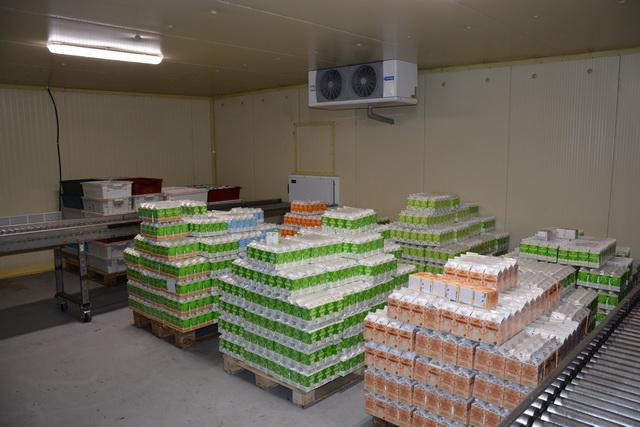 Ежедневно «Заречное» поставляет на прилавки 18-20 тонн натуральной молочной продукции.