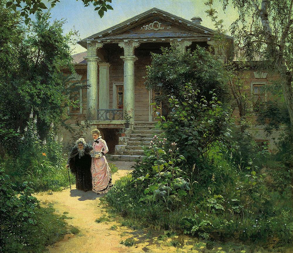 Василий Поленов «Бабушкин сад» (1879)