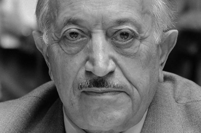 Симон Визенталь. 1982 г.