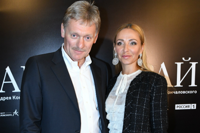 Дмитрий Песков и Татьяна Навка.