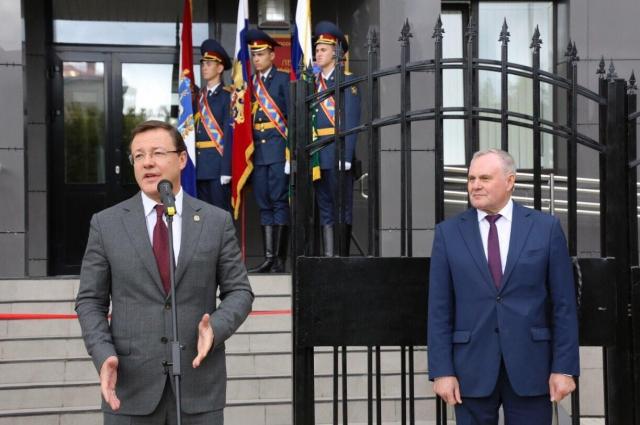 Участие в открытии Дома правосудия принял губернатор Самарской области Дмитрий Азаров.