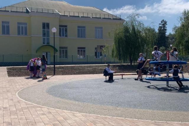 Парк в Новоселицком пережило своё второе рождение