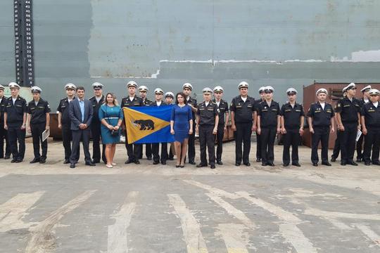 День ВМФ, 2020 год, г. Владивосток.