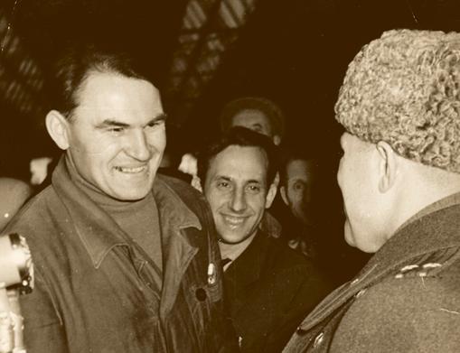 Встреча двух Юриев Гагариных.