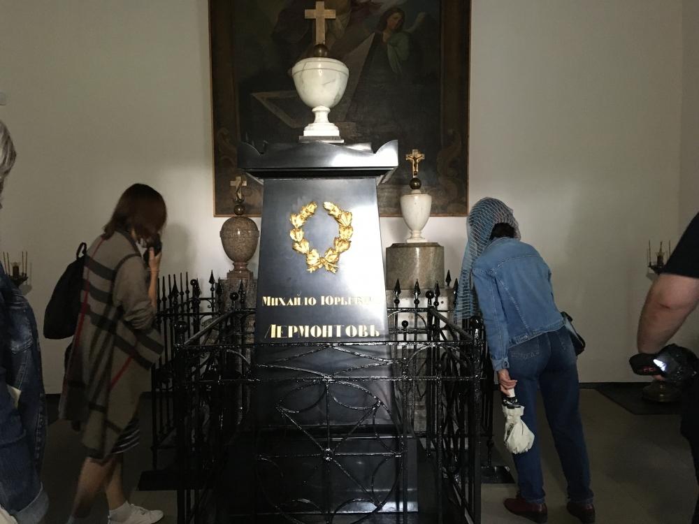 Семейный склеп Арсеньевых-Лермонтовых в Тарханах.