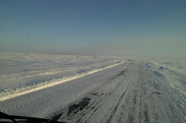 Дорога в районе Сары
