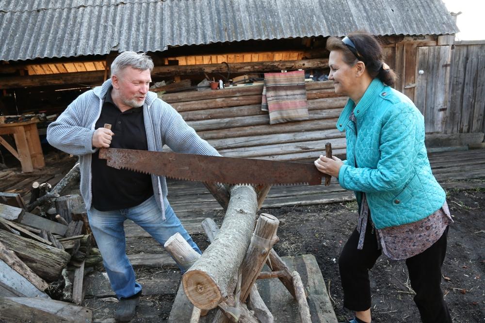 Олег и Валентина Алексушины