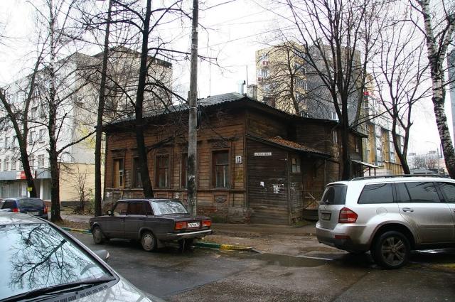 Очарование ветхих зданий