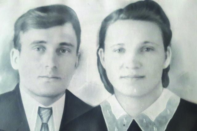 Первая совместная фотография супругов Синяк.