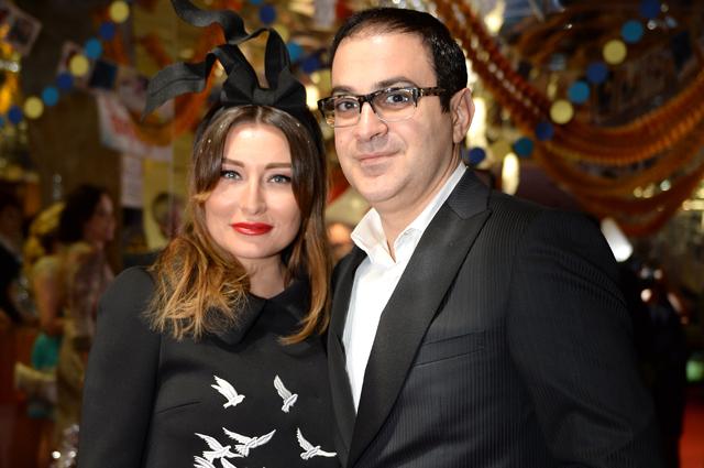 Гарик Мартиросян с супругой Жанной.