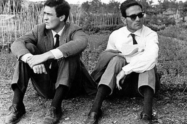 Бернардо Бертолуччи и Пьер Паоло Пазолини.