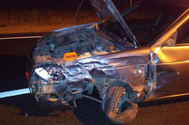 В ДТП пострадал один из водителей.