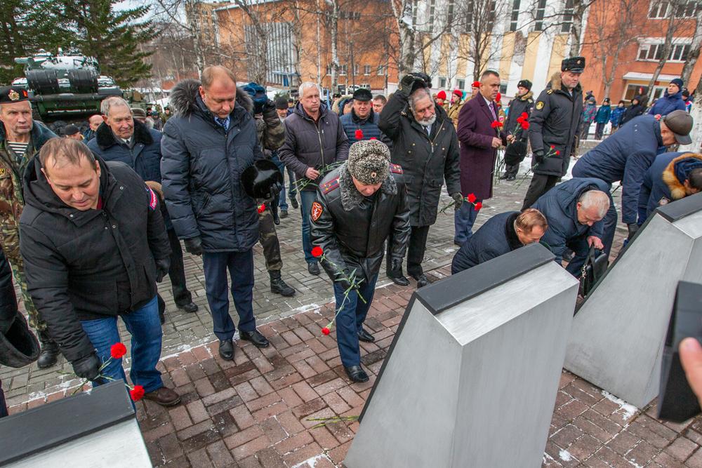 О погибших товарищах помним.