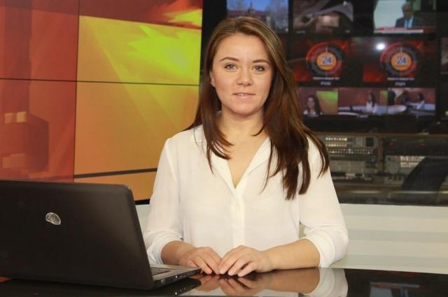 Девушка надеется, что ее пригласят стать телеведущей.
