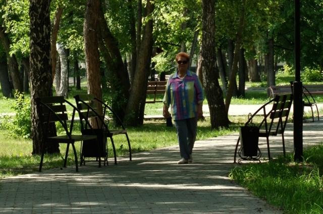 Сквер Химиков - одно из любимых мест отдыха жителей района.