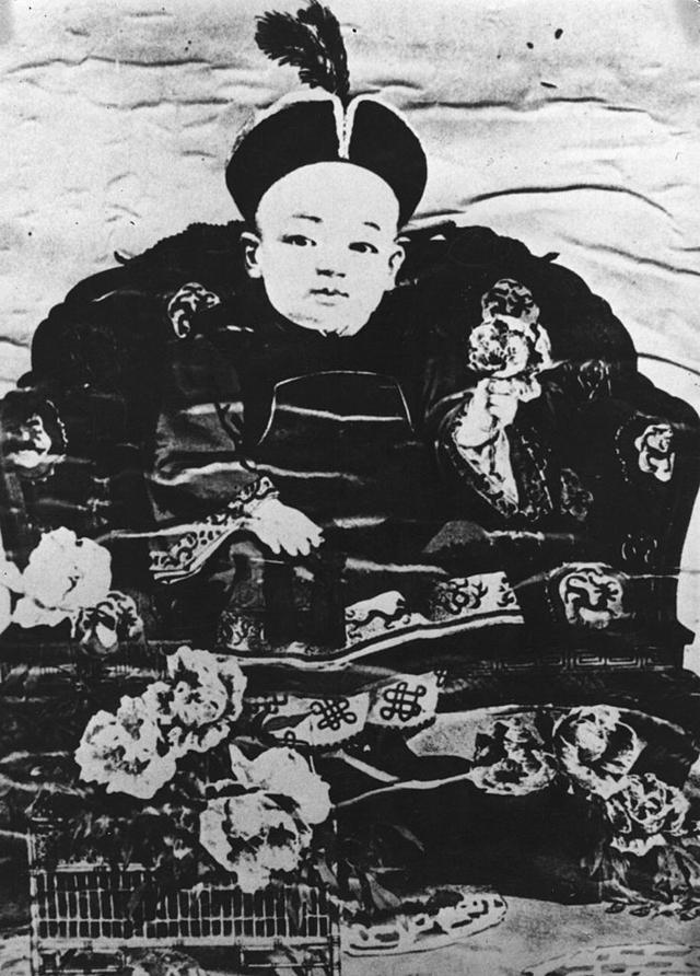 Портрет Пу И, 1908 год.