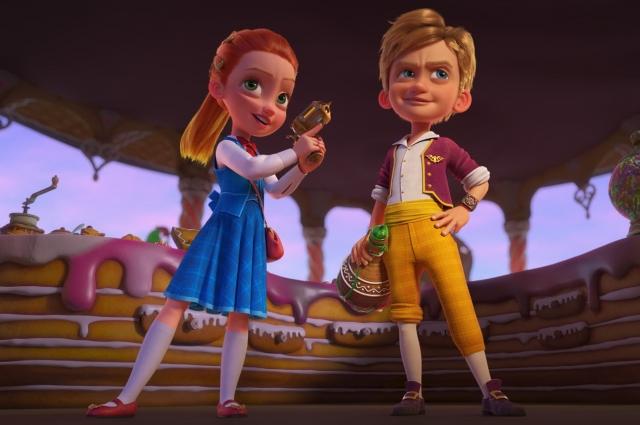 Агенты Ганзель и Гретель, превратившиеся в детей.