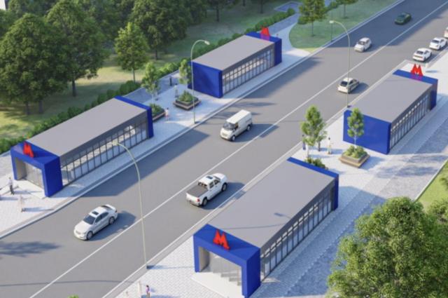Проект станции метро «Гольяново».