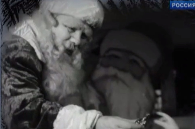 Дед Мороз в исполнении Михаила Наумовича Гаркави