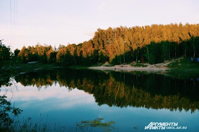 Озеро в Реадовском парке