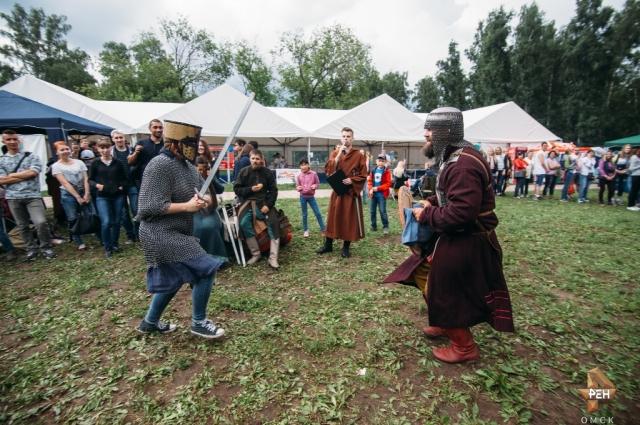 Омичи с огромным удовольствием приняли участи в фестивале.