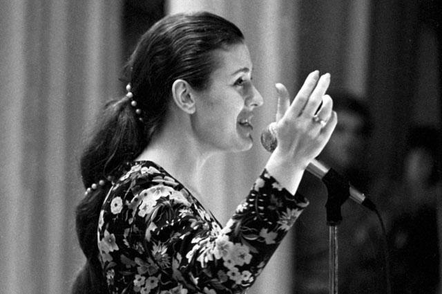 Валентина Толкунова, 1975 год