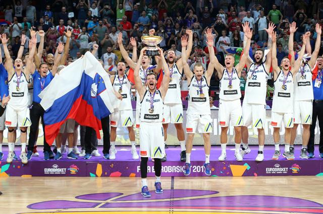 Сборная Словении по баскетболу.