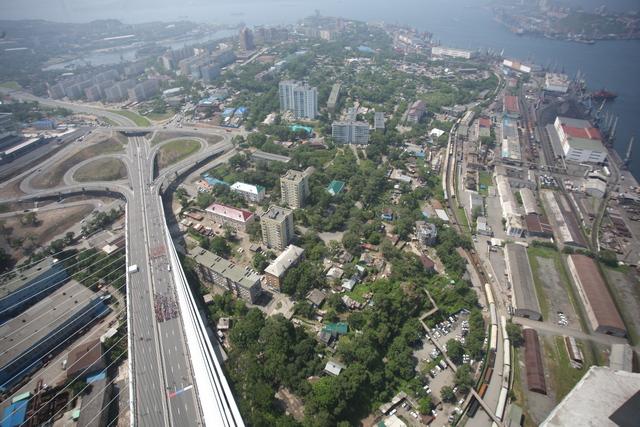 Владивосток с высоты птичьего полета.