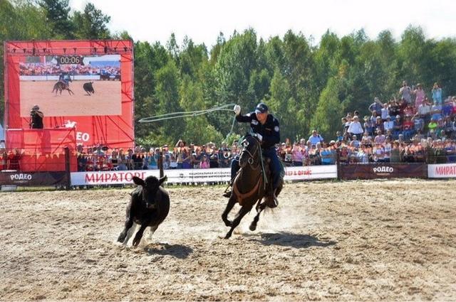 Страну карнавалов посетили победители «Русского родео-2019».
