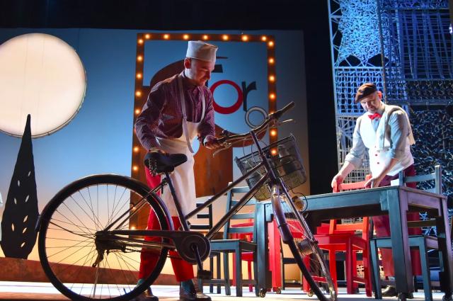 Велосипед, дизайн и музыка – приметы XX века.
