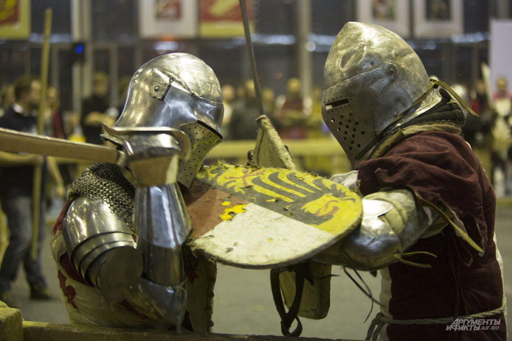 Рыцари сойдутся в схватках на потеху горожанам
