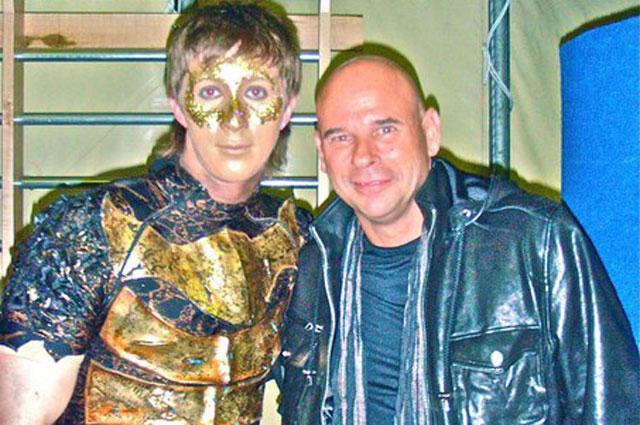 Алексей Рунов и с основателем цирка Дю Солей Ги Лалиберте