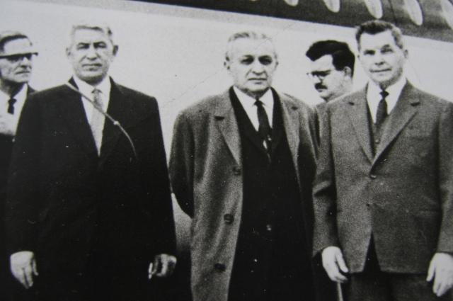 Максимов, Микоян и Ильюшин в Англии. 1963 год.