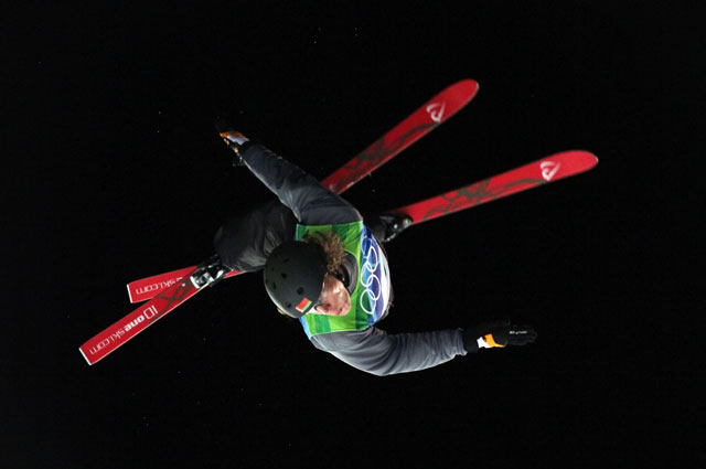 Тимофей Сливец на Олимпиаде в Ванкувере. 2010 год