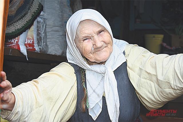 Степанида Корнилова соблюдает все старообрядческие традиции.