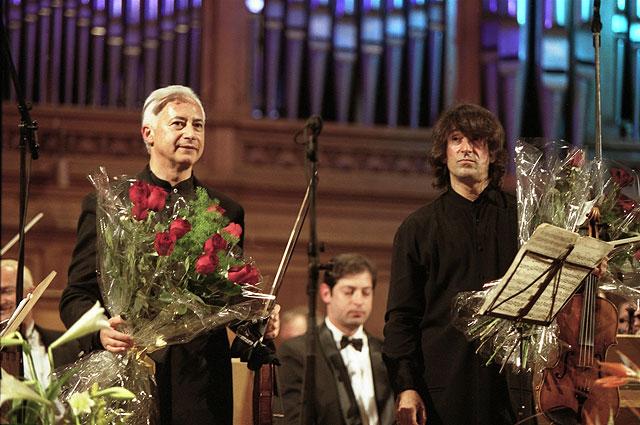 Владимир Спиваков и Юрий Башмет, 2004 год