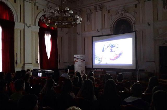 В русском центре Нови-Сад в гимназии «Й.Й.Змай» состоялось мероприятие «Дни Российского кино».